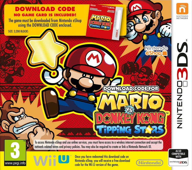 Mario vs Donkey Kong - Tipping Stars 3DS coverHQ (JYLP)