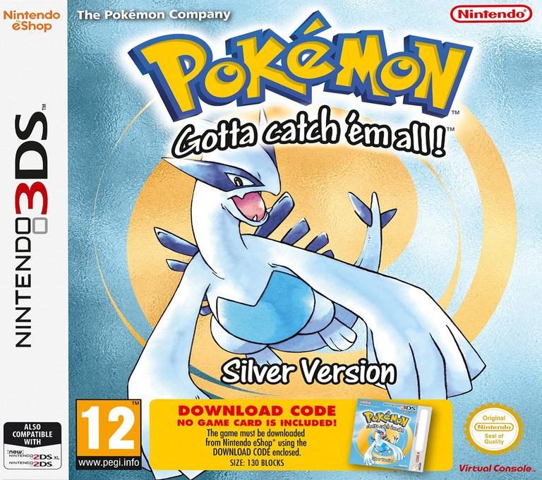 Pokémon - Gotta catch 'em all! - Silver Version 3DS coverHQ (QBTA)