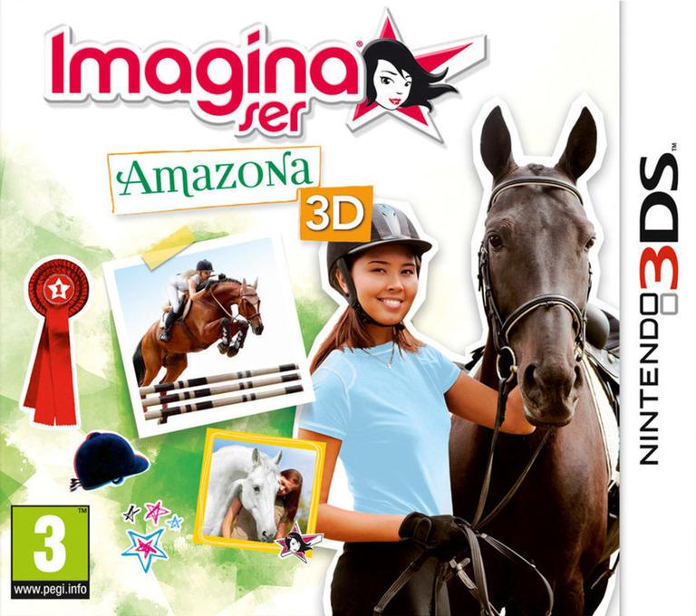 Imagina ser - Amazona 3D 3DS coverHQ (AHSP)