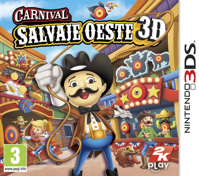Carnival - Salvaje Oeste 3D 3DS coverHQ (AW2P)