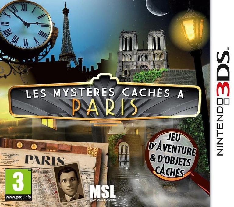 Les mystères cachés à Paris 3DS coverHQ (ASXP)
