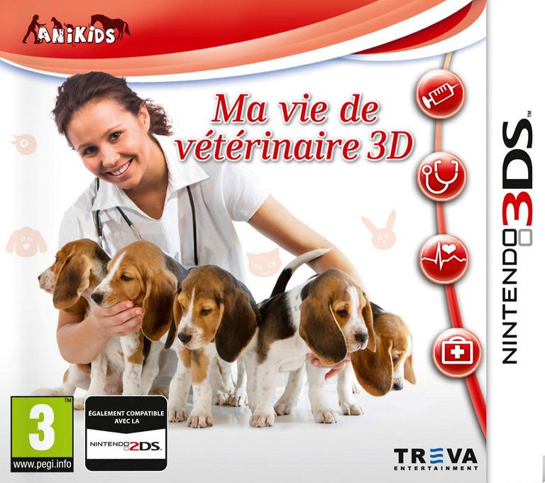 Ma vie de vétérinaire 3D 3DS coverHQ (BMTP)