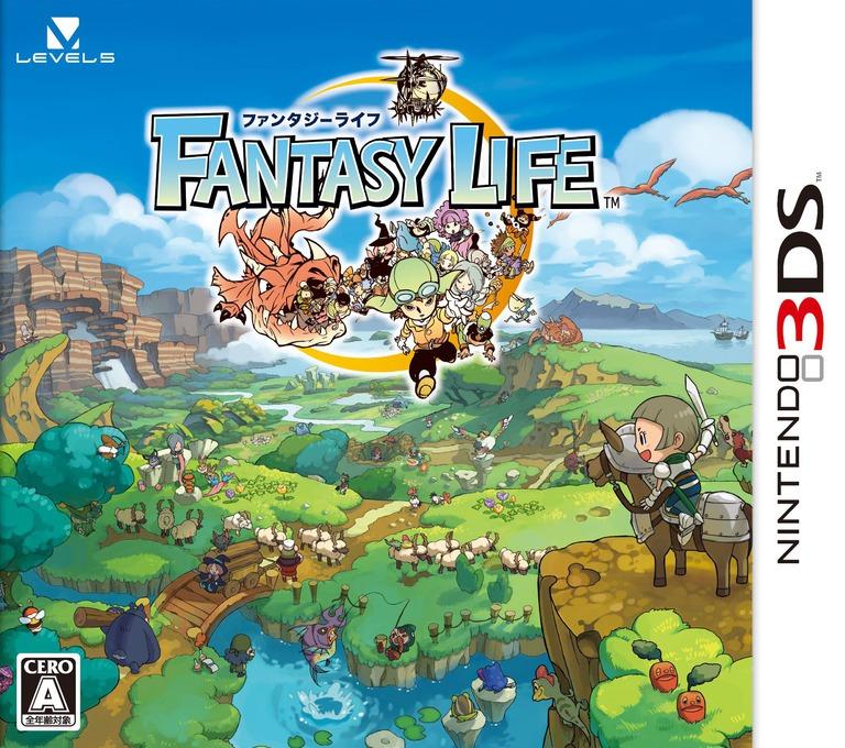 ファンタジーライフ 3DS coverHQ (AFLJ)