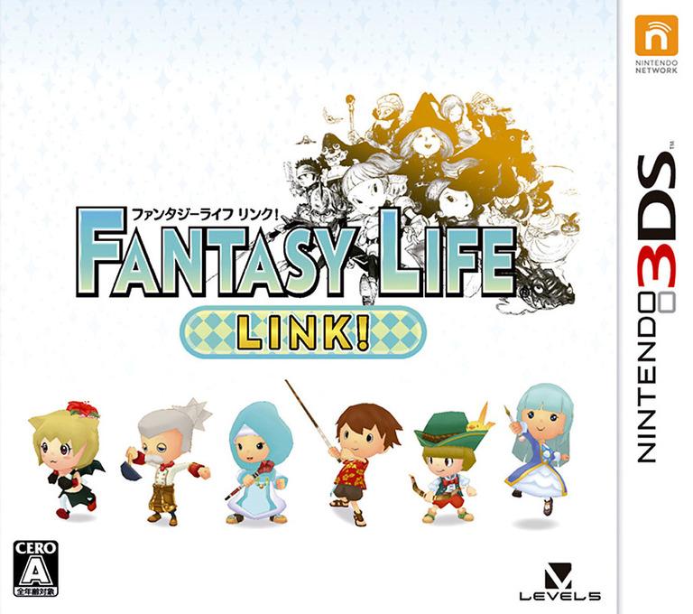 ファンタジーライフ LINK! 3DS coverHQ (BLKJ)