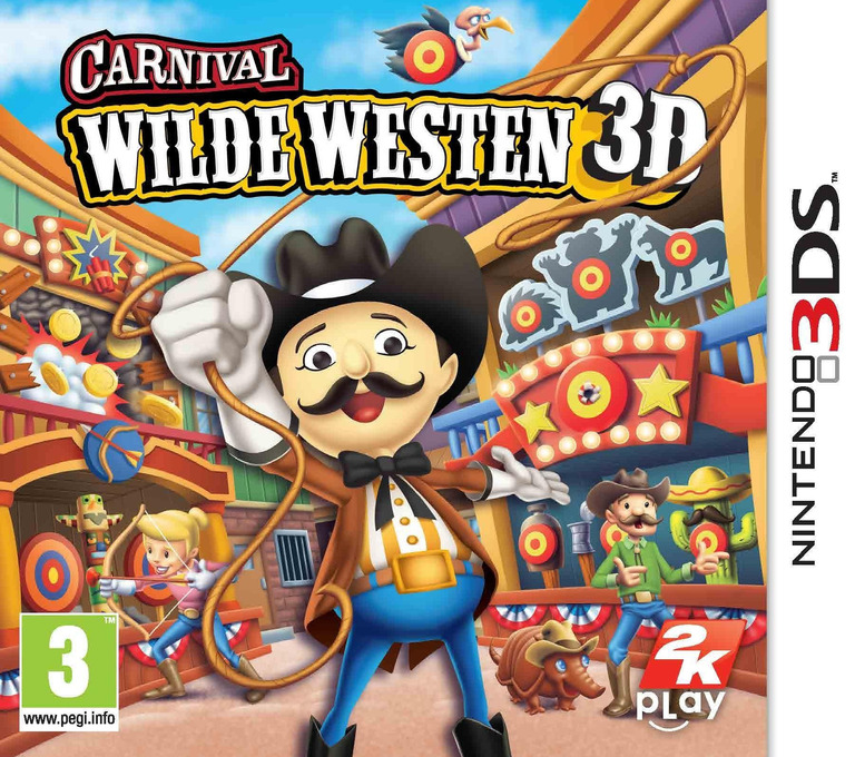 Carnival - Wilde Westen 3D 3DS coverHQ (AW2P)
