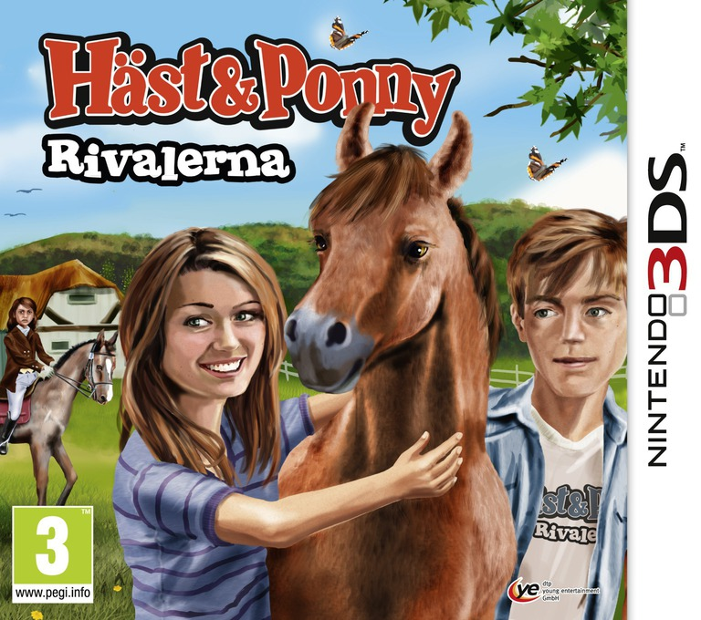 Häst & Ponny - Rivalerna 3DS coverHQ (AMUP)