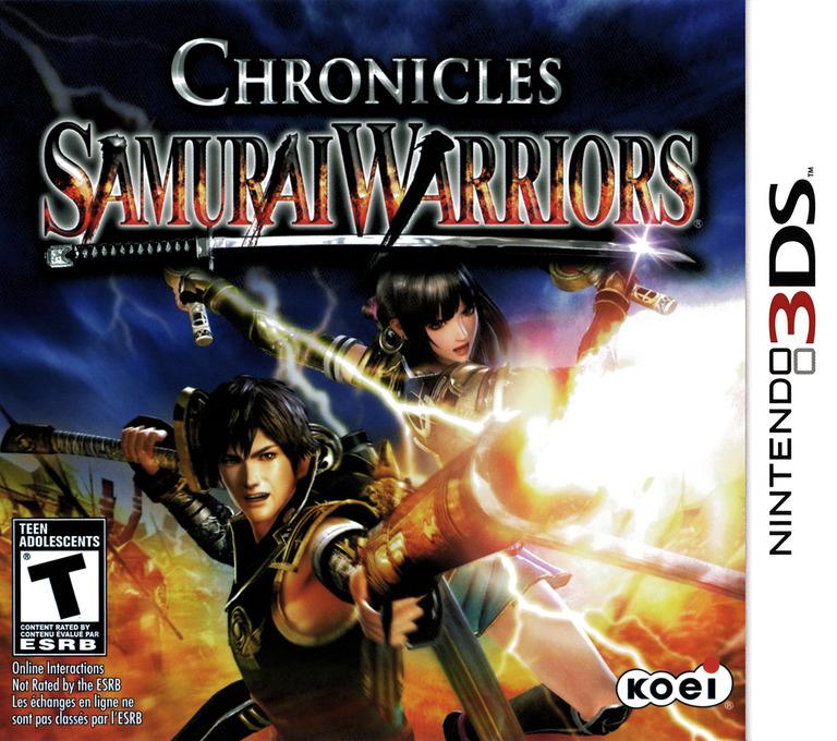 Samurai Warriors - Chronicles 3DS coverHQ (A66E)