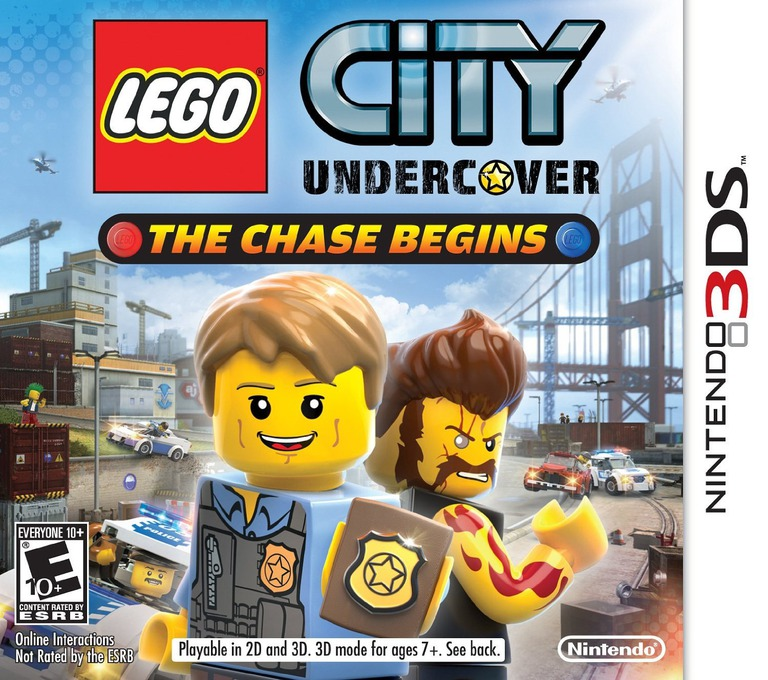 LEGO City Undercover - The Chase Begins 3DS coverHQ (AA8E)