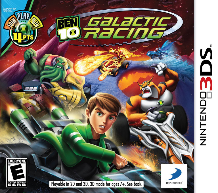 Ben 10 - Galactic Racing 3DS coverHQ (ABNE)