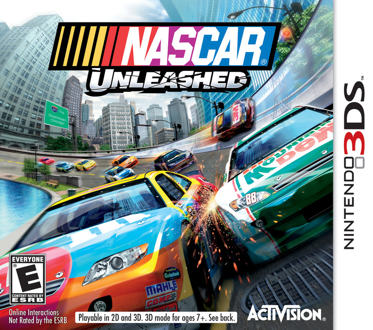 NASCAR Unleashed 3DS coverHQ (AC9E)