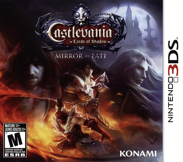 Castlevania - Lords of Shadow - Mirror of Fate 3DS coverHQ (ACFE)