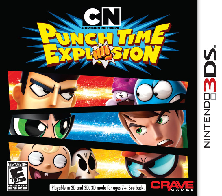 Cartoon Network - Punch Time Explosion 3DS coverHQ (ACNE)