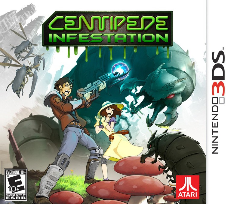 Centipede - Infestation 3DS coverHQ (ACPE)