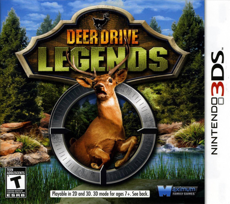 Deer Drive Legends 3DS coverHQ (AD2E)