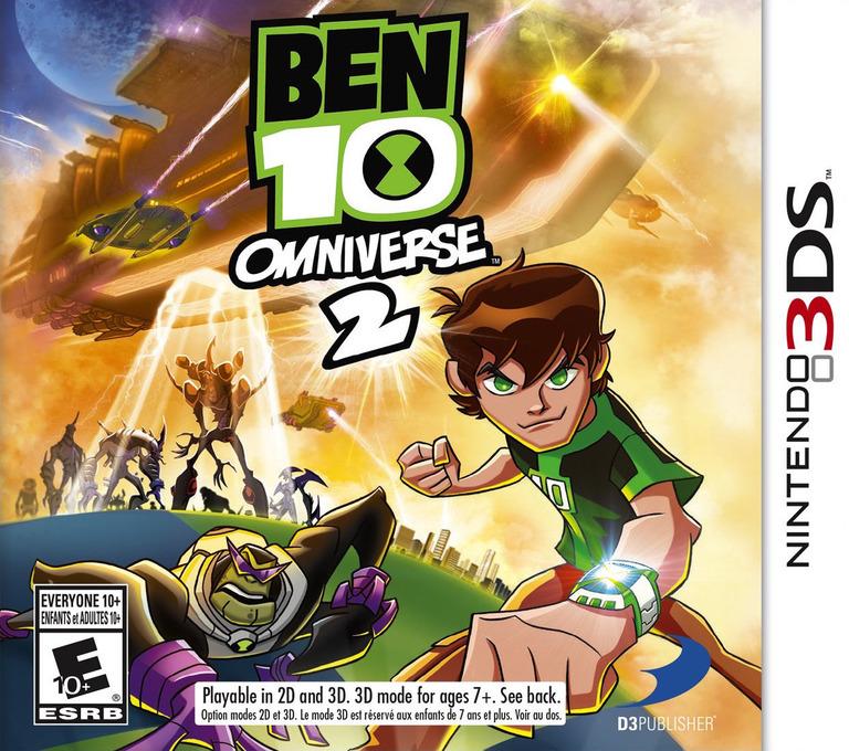 Ben 10 - Omniverse 2 3DS coverHQ (AEQE)