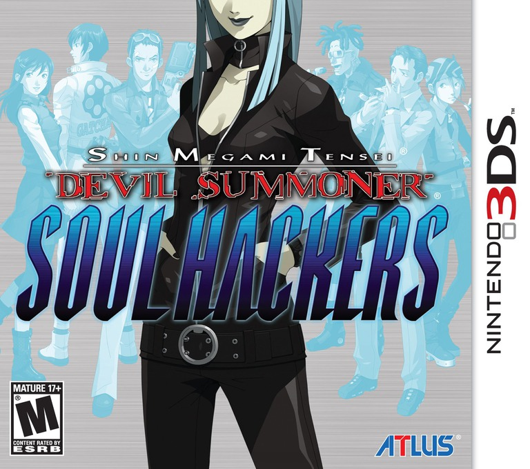 Shin Megami Tensei - Devil Summoner - Soul Hackers 3DS coverHQ (AHQE)