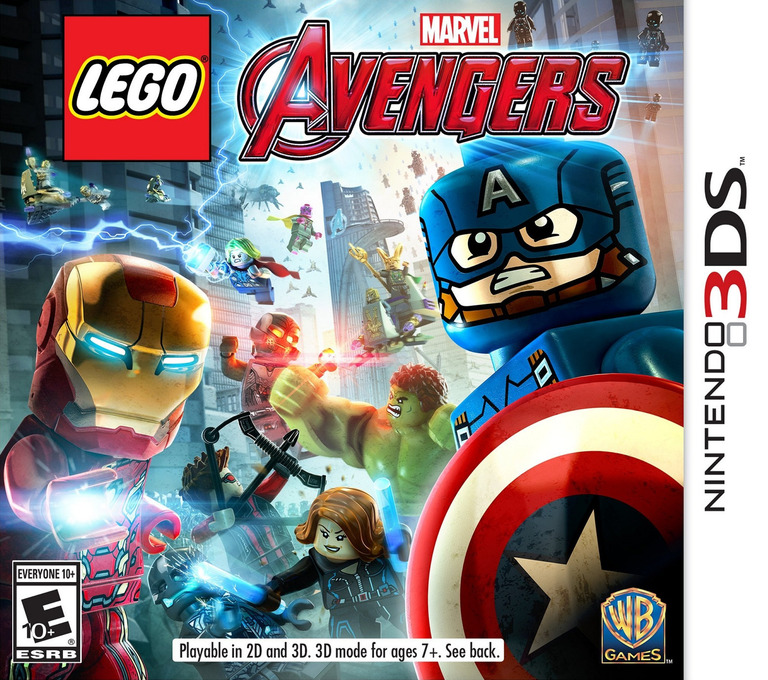 LEGO Marvel's Avengers 3DS coverHQ (ALEE)