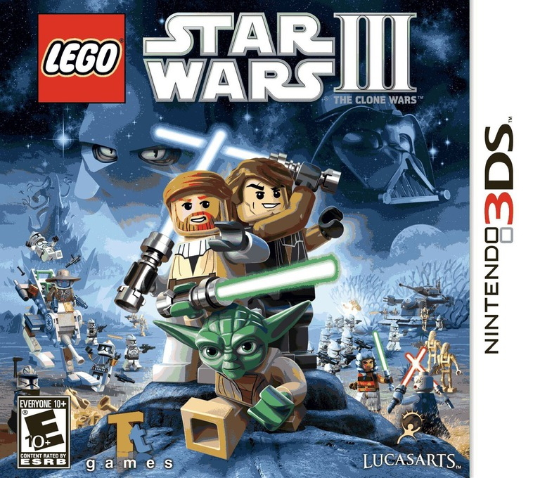 LEGO Star Wars III - The Clone Wars 3DS coverHQ (ALGE)