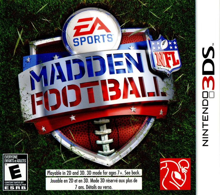 Madden NFL Football 3DS coverHQ (AMDE)