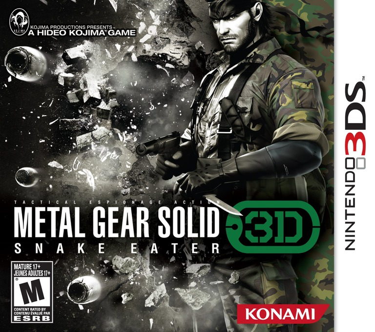 Metal Gear Solid 3D - Snake Eater Array coverHQ (AMGE)