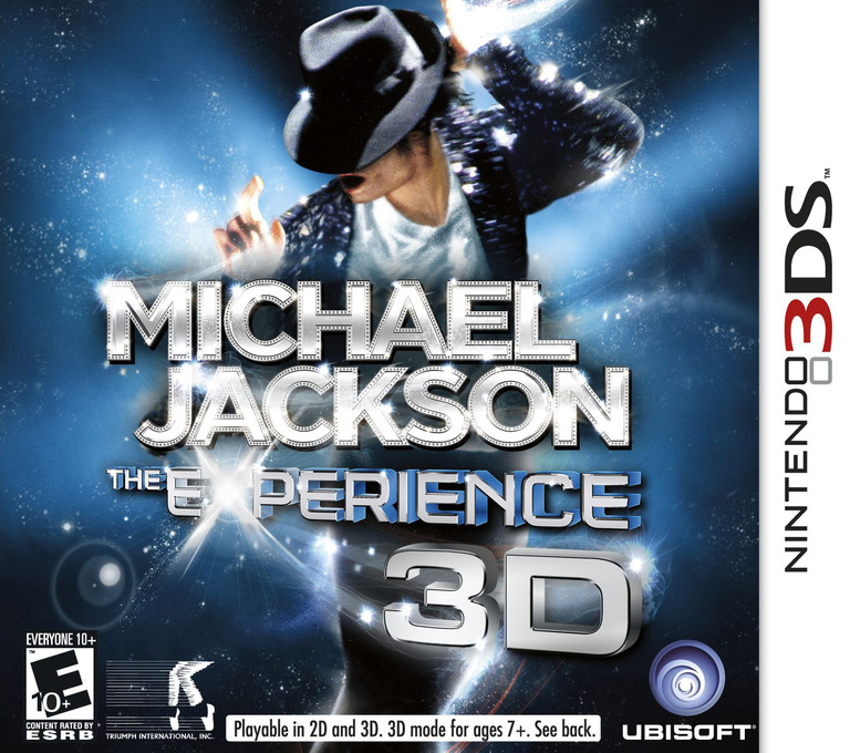 Michael Jackson - The Experience 3D 3DS coverHQ (AMJE)