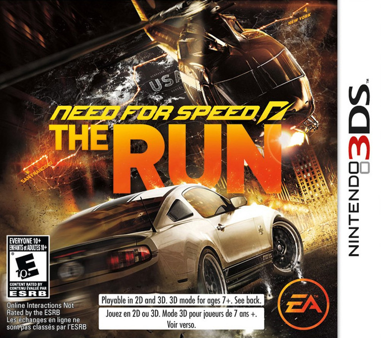 Need for Speed - The Run 3DS coverHQ (ANSE)