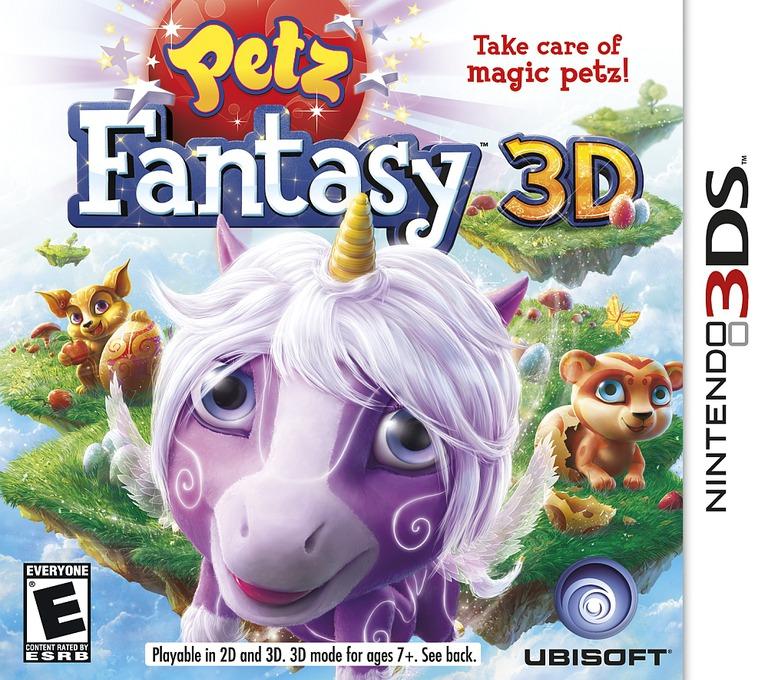 Petz Fantasy 3D 3DS coverHQ (APFE)