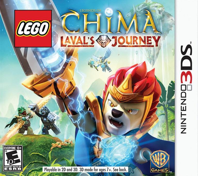LEGO Legends of Chima - Laval's Journey 3DS coverHQ (APRE)