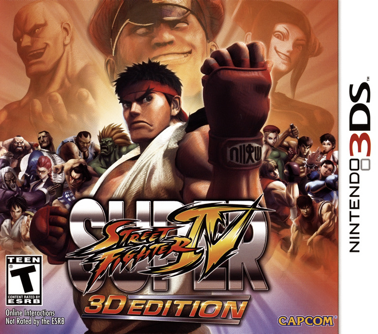 Super Street Fighter IV - 3D Edition 3DS coverHQ (ASSE)