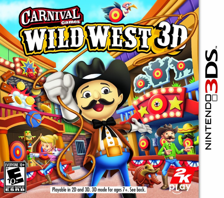 Carnival Games - Wild West 3D 3DS coverHQ (AW2E)
