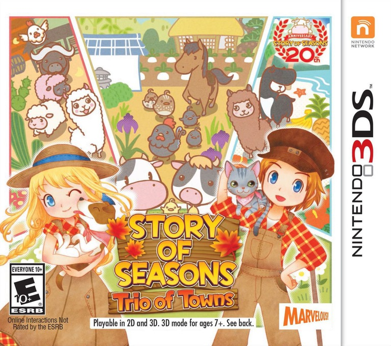 Story of Seasons: Trio of Towns 3DS coverHQ (BB3E)