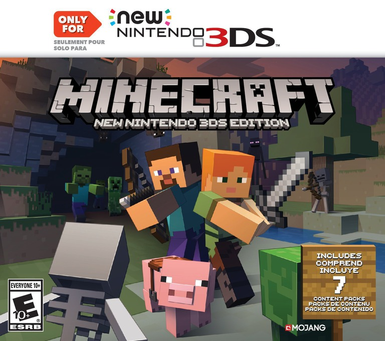 Minecraft: New Nintendo 3DS Edition 3DS coverHQ (BD3E)