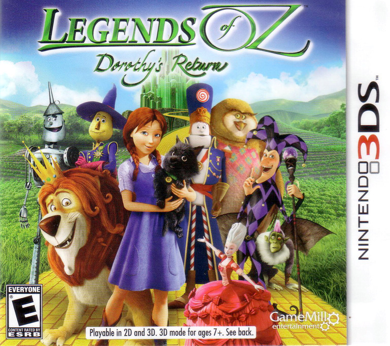 Legends of Oz - Dorothy's Return 3DS coverHQ (BDTE)
