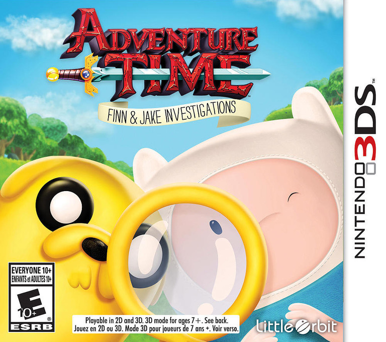 Adventure Time - Finn & Jake Investigations 3DS coverHQ (BFNE)