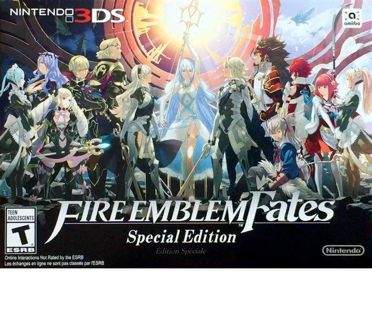 Fire Emblem - Fates Special Edition 3DS coverHQ (BFZE)