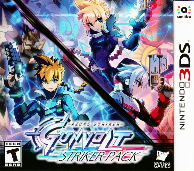 Azure Striker Gunvolt: Striker Pack 3DS coverHQ (BG8E)