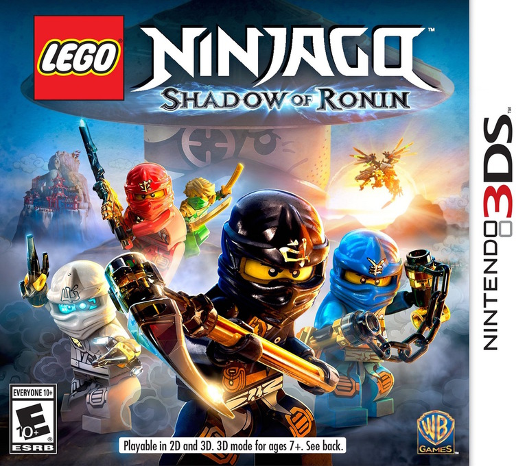 LEGO Ninjago - Shadow of Ronin 3DS coverHQ (BLSE)