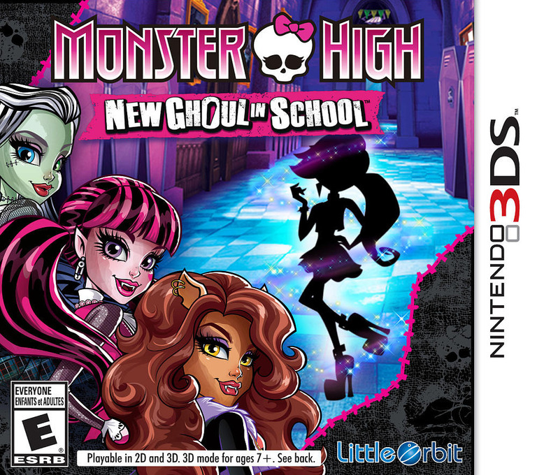 Monster High - New Ghoul in School 3DS coverHQ (BMSE)