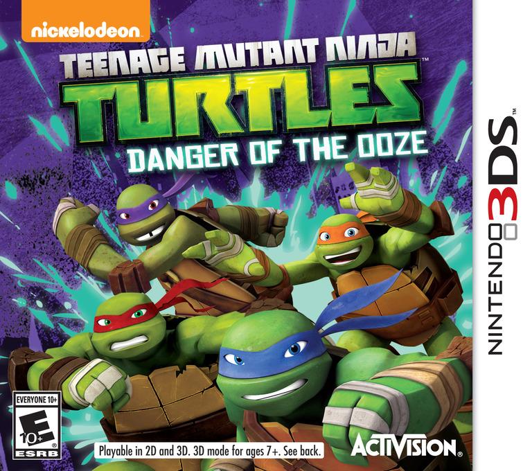 Teenage Mutant Ninja Turtles - Danger of the Ooze 3DS coverHQ (BMUE)