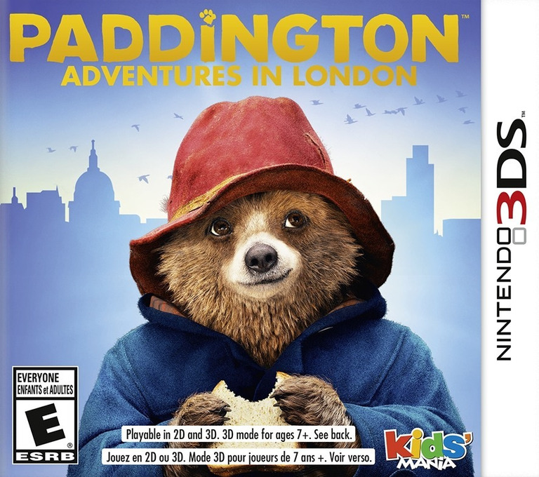 Paddington - Adventures in London 3DS coverHQ (BPLE)