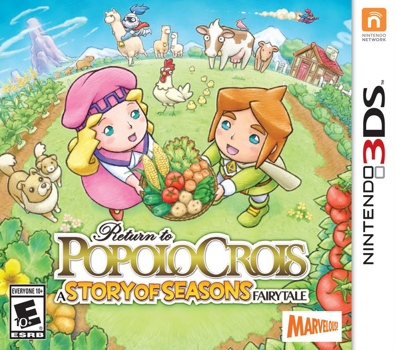 Return to PoPoLoCrois: A Story of Seasons Fairytale 3DS coverHQ (BPPE)