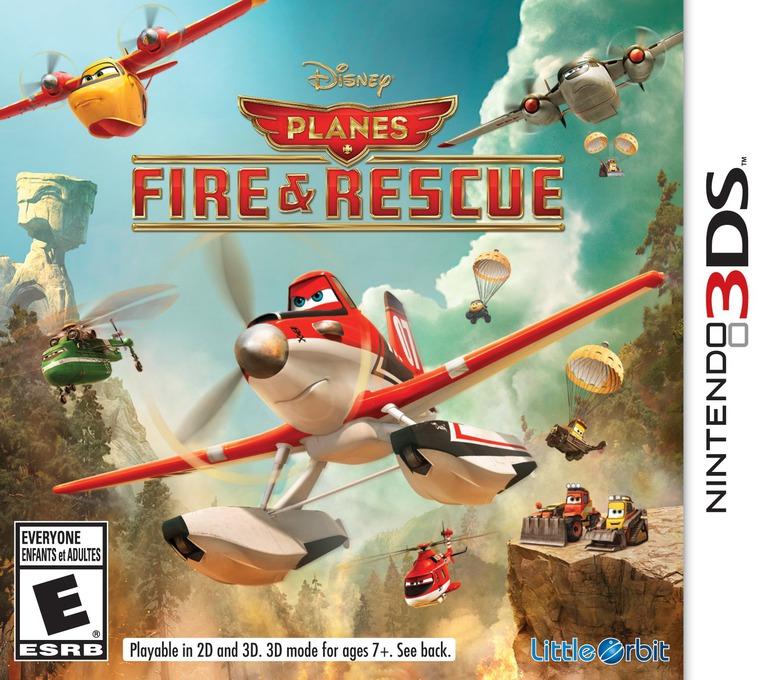 Disney Planes - Fire & Rescue 3DS coverHQ (BPRE)
