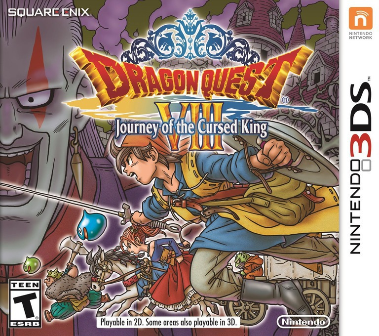 Dragon Quest VIII: Journey of the Cursed King 3DS coverHQ (BQ8E)