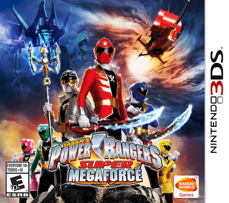 Power Rangers - Super Megaforce 3DS coverHQ (BSSE)