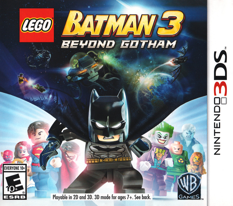 LEGO Batman 3 - Beyond Gotham 3DS coverHQ (BTME)