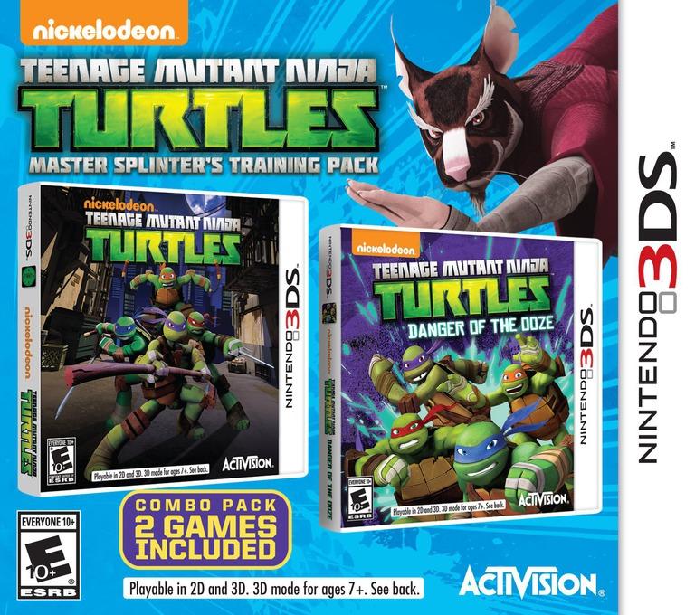 Teenage Mutant Ninja Turtles - Master Splinter's Training Pack 3DS coverHQ (BTNE)