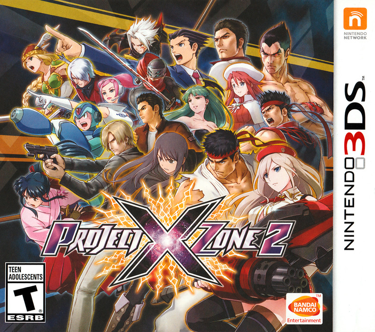 Project X Zone 2 Array coverHQ (BX2E)