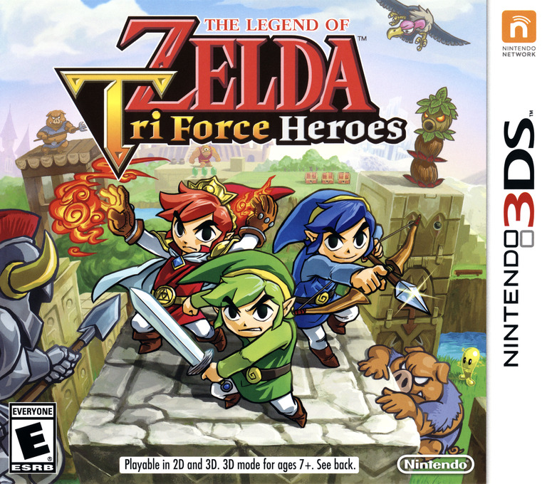 The Legend of Zelda - Tri Force Heroes 3DS coverHQ (EA3E)