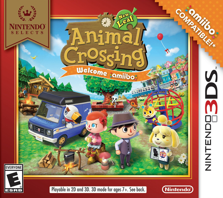 Animal Crossing: New Leaf - Welcome amiibo! 3DS coverHQ (EAAE)