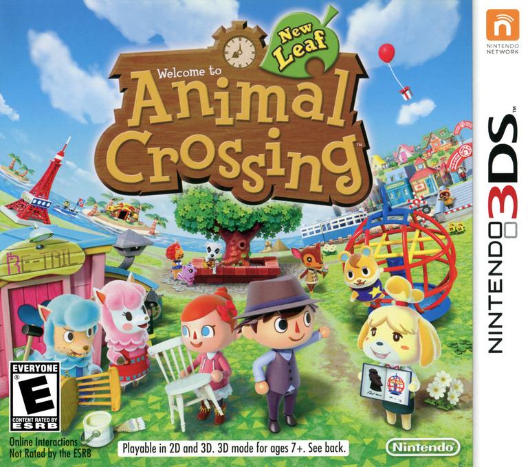 Animal Crossing - New Leaf Array coverHQ (EGDE)